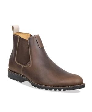 Sandro Moscoloni Men's Plain Toe Chelsea Boot Men's Shoes