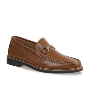 Sandro Moscoloni Men's Rolled Moc Slip-On with Ornament Men's Shoes