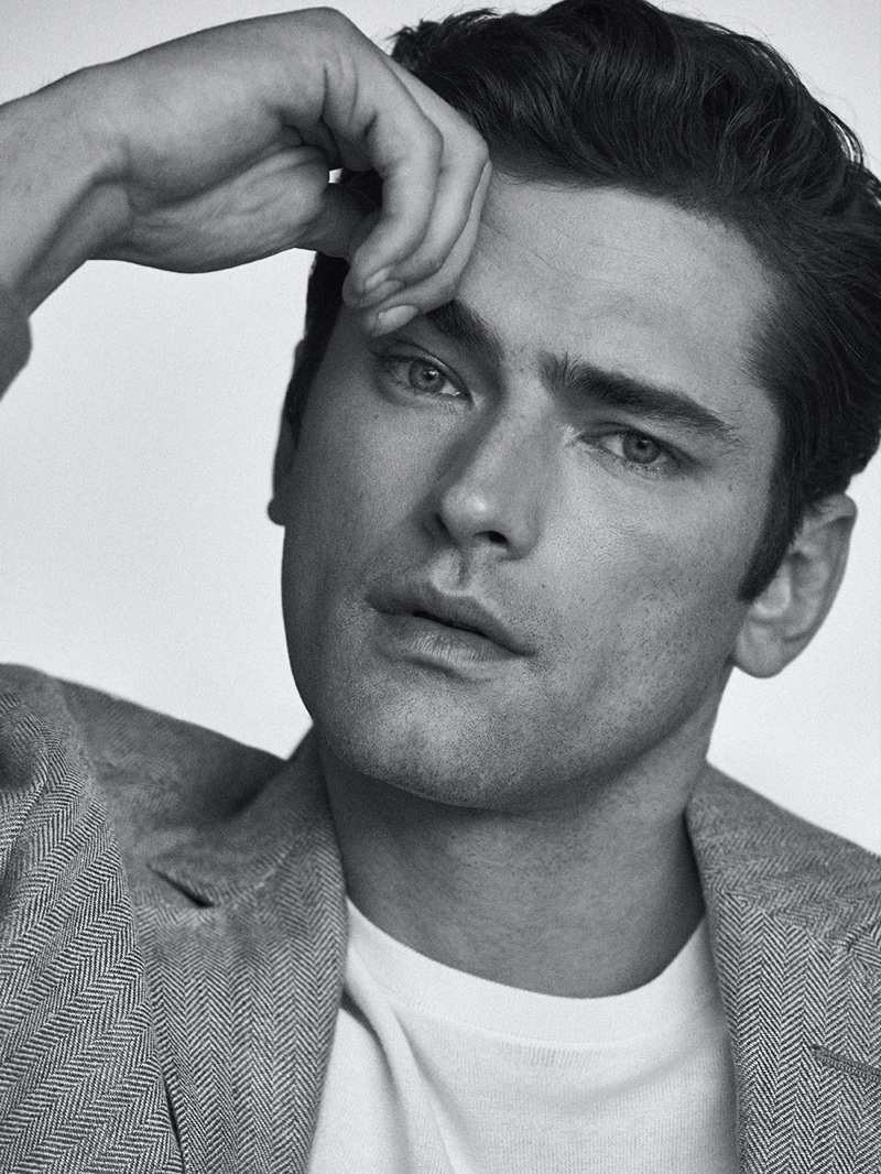Sean O'Pry Suits Up for Massimo Dutti