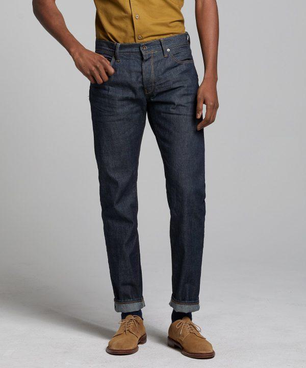 Slim Fit Lightweight Japanese Selvedge Jean in Indigo