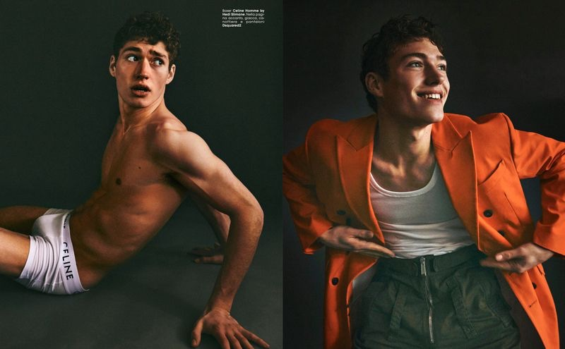 Valentin Humbroich is Charismatic for ICON Italy Cover Shoot