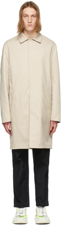 Valentino Beige Wool Twill Coat