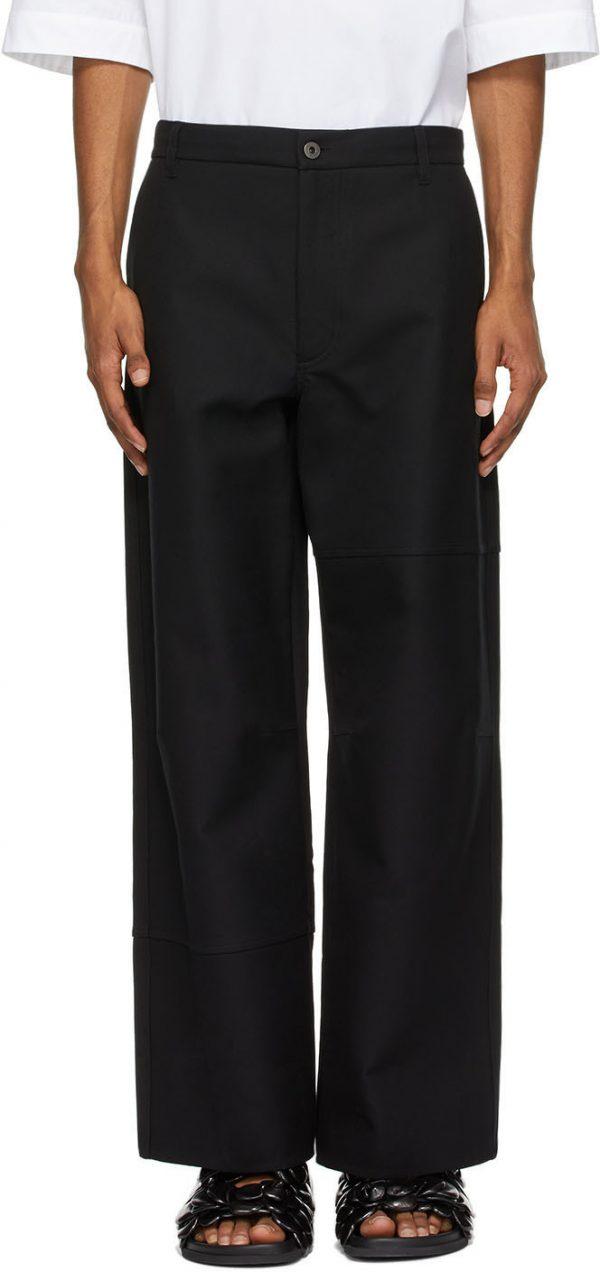 Valentino Black Twill Trousers