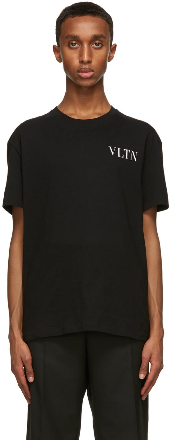 Valentino Black 'VLTN' T-Shirt