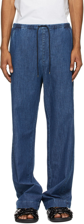 Valentino Blue Denim Chambray Jeans