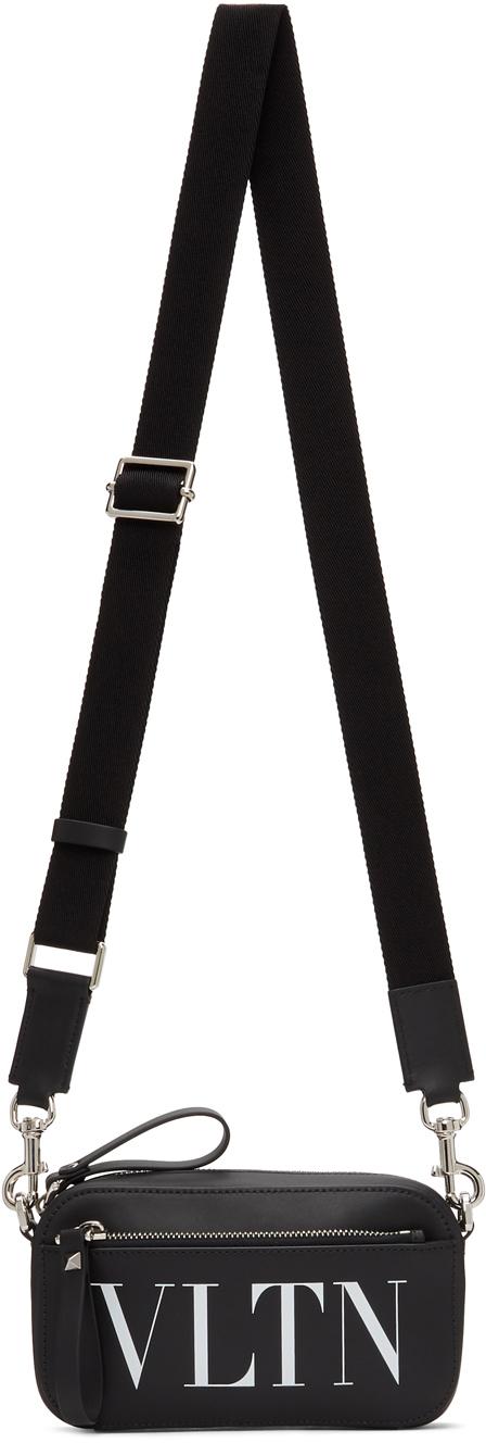 Valentino Garavani Black Valentino Garavani Mini 'VLTN' Waist Bag