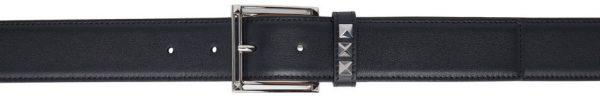 Valentino Garavani Black Valentino Garavani Rockstud Belt