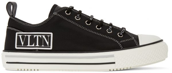 Valentino Garavani Black Valentino Garavani 'VLTN' Sneakers