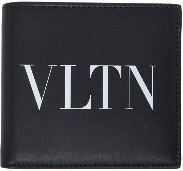 Valentino Garavani Black Valentino Garavani 'VLTN' Wallet