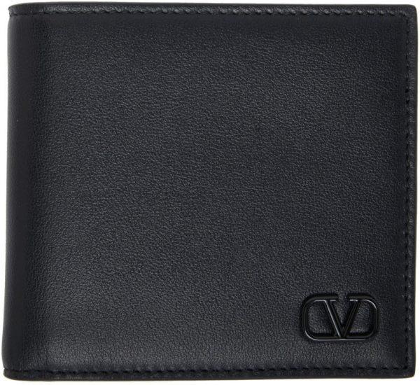 Valentino Garavani Black Valentino Garavani VLogo Wallet