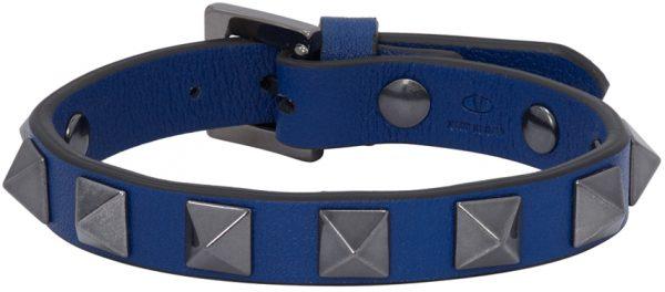 Valentino Garavani Blue Valentino Garavani Rockstud Bracelet
