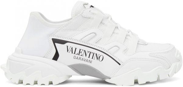 Valentino Garavani White Climbers Sneakers