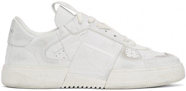 Valentino Garavani White 'VL7N' Low Sneakers