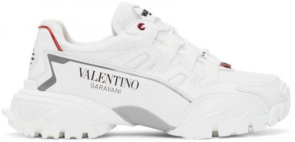 Valentino Garavani White Valentino Garavani Climbers VLogo Sneakers