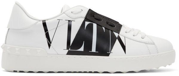 Valentino Garavani White Valentino Garavani VLTN Star Low Top Sneakers