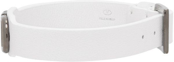 Valentino Garavani White Valentino Garavani VLogo Bracelet