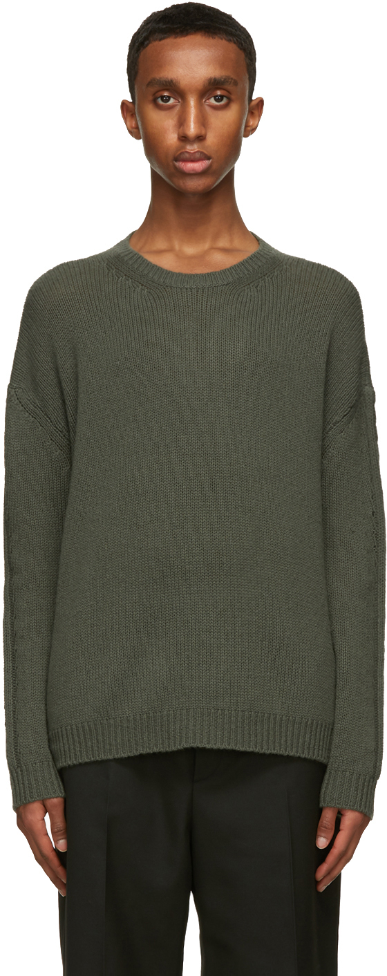 Valentino Green Cashmere Sweater