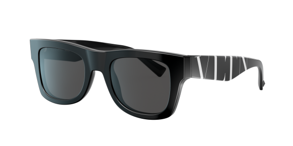 Valentino Man VA4045 - Frame color: Black, Lens color: Grey-Black, Size 50-22/145