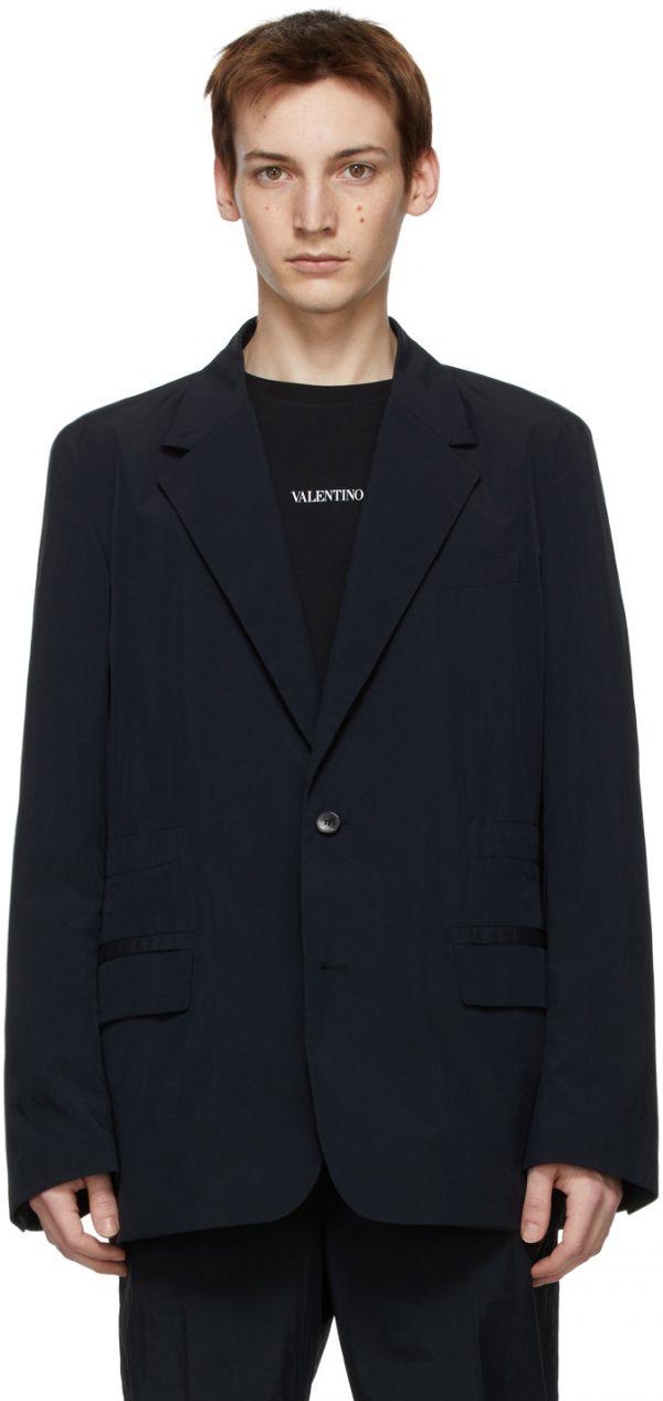 Valentino Navy Sport Blazer