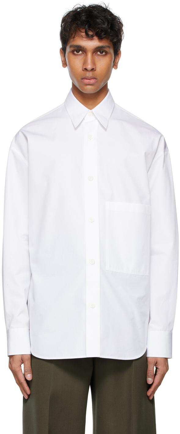 Valentino White Front Pocket Shirt