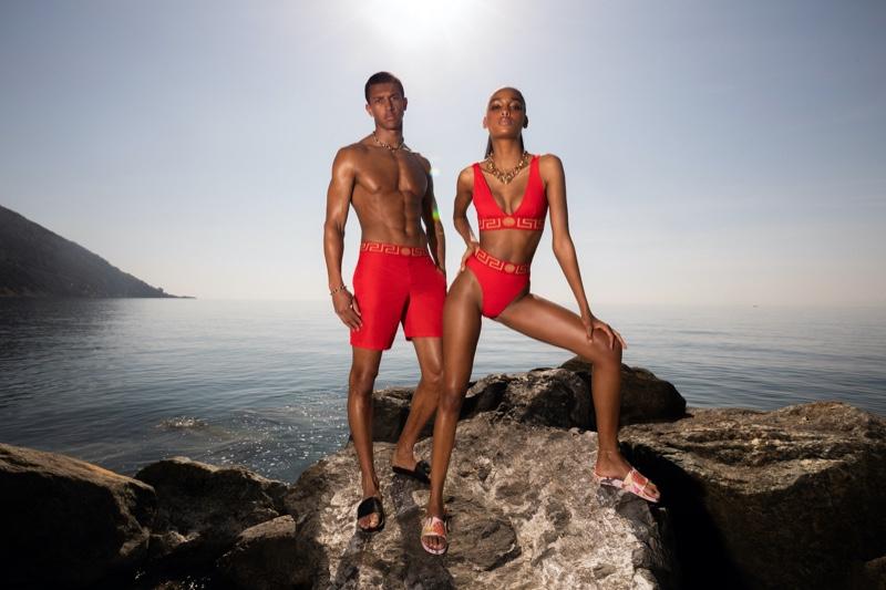 Lucas, Loïc & Simone Enjoy a Summer Holiday for Versace La Vacanza Campaign