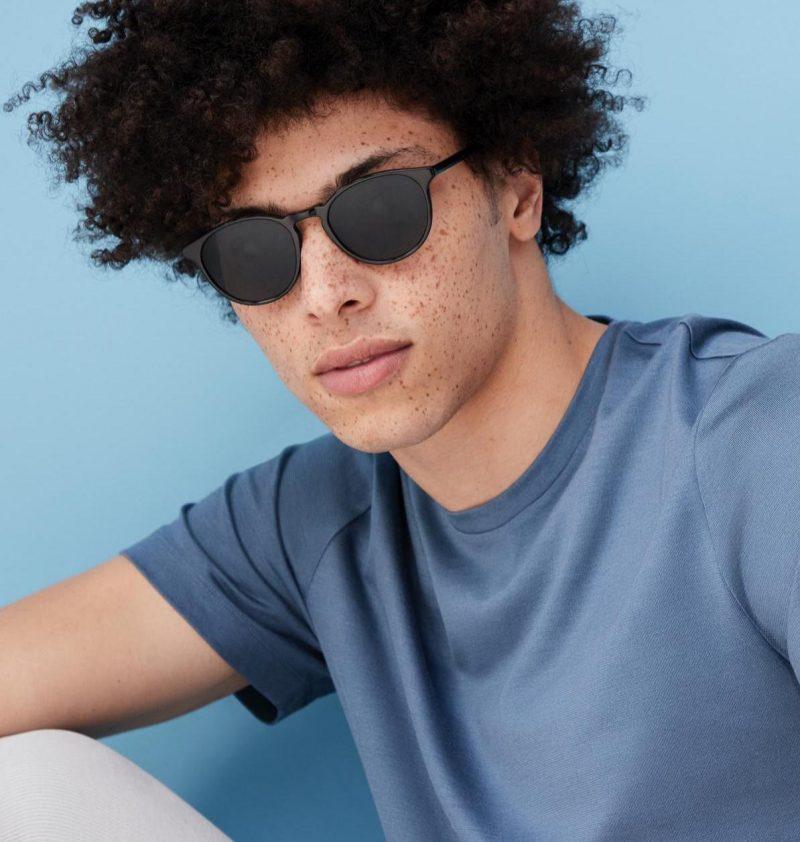 Warby Parker Butler Jet Black Sunglasses