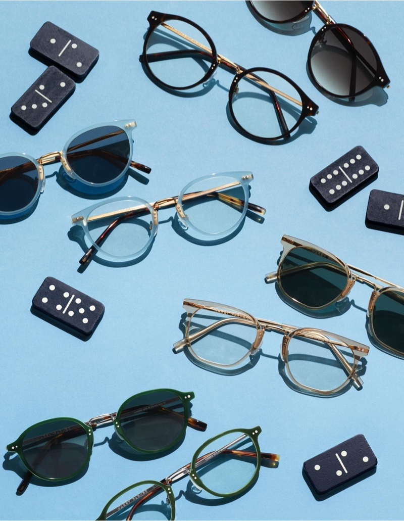 Warby Parker highlights its 'New Classics' collection, which includes styles that can be purchased as optical frames or sunglasses.