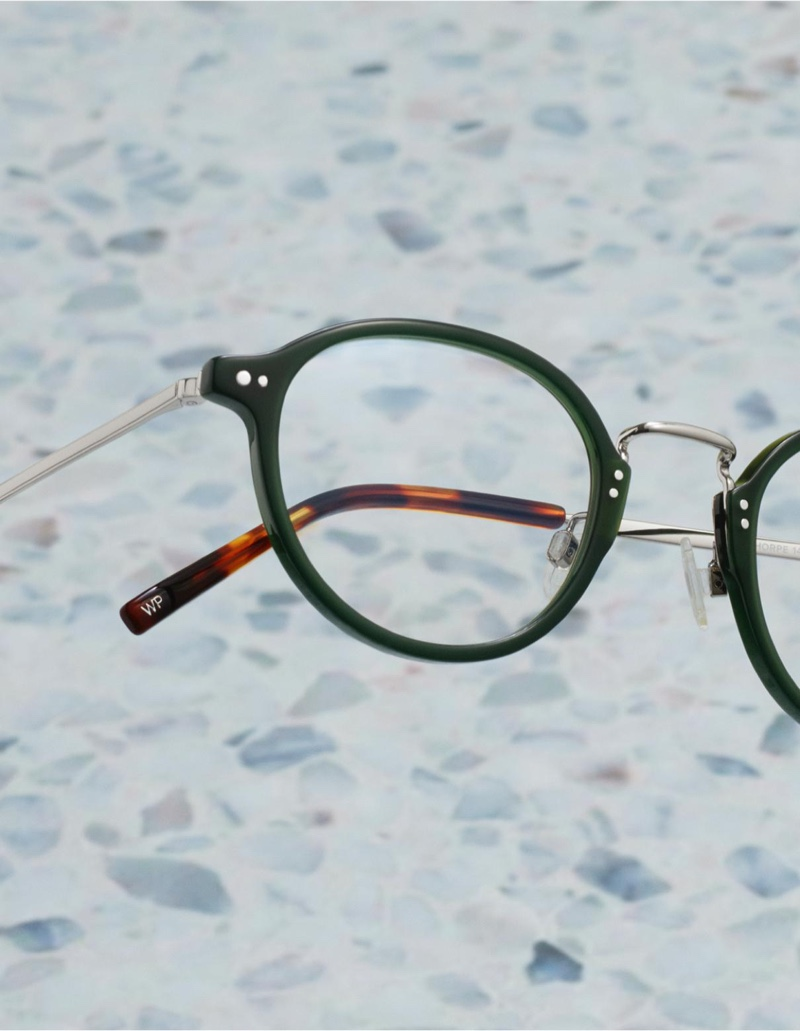 Warby Parker Thorpe Poblano with Polished Silver Eyewear