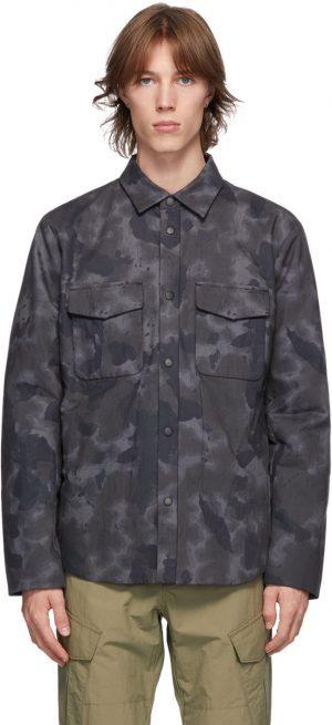 rag & bone Grey Camo M42 Jack Jacket