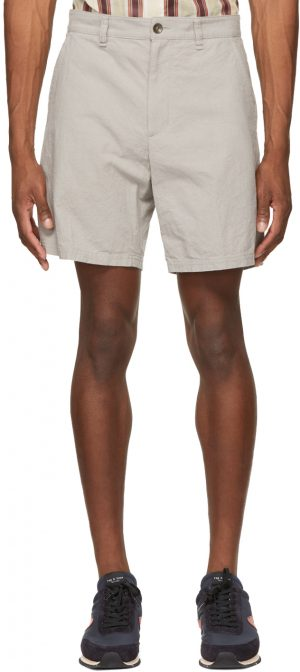 rag & bone Grey Canvas Eaton Shorts