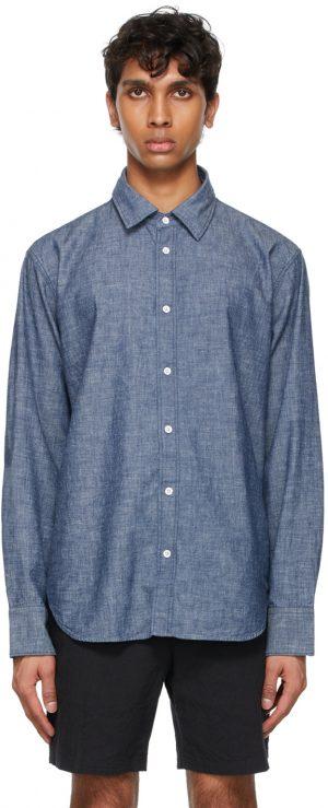 rag & bone Indigo Fit 3 Chambray Shirt
