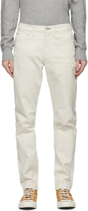 rag & bone White Fit 2 Jeans