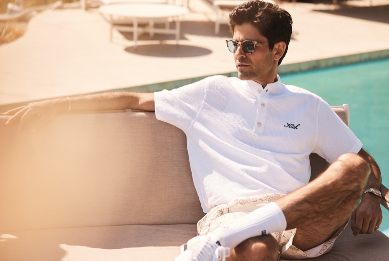 Adrian Grenier Fronts Kith Summer Campaign