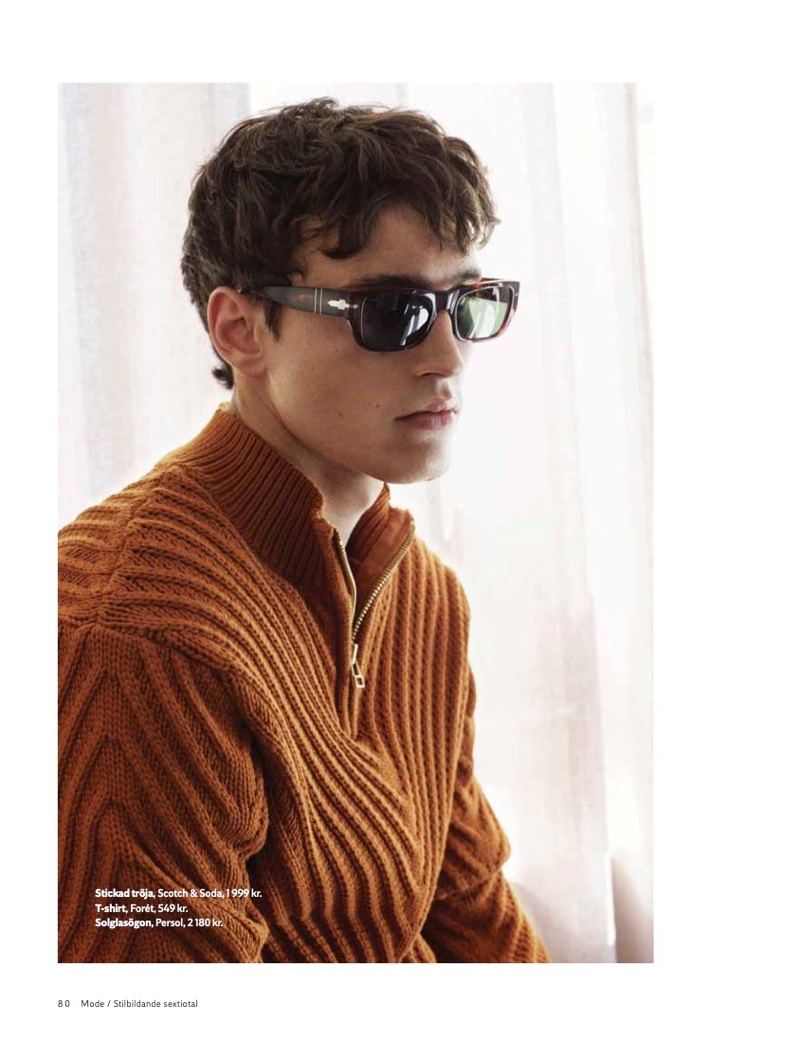 Ante Padovan Channels '60s in Sharp Looks for King Magazine