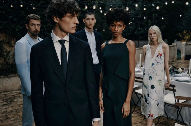 BOSS enlists James Yates, Valentin Caron, Yun Hoseok, Naomi Chin Wing, and Lina Berg to front its spring-summer 2021 Special Occasions campaign.