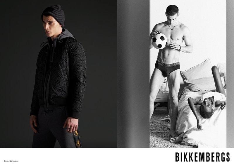Aron Cavoj Embodies Bikkembergs Active Spirit for Fall '21 Campaign