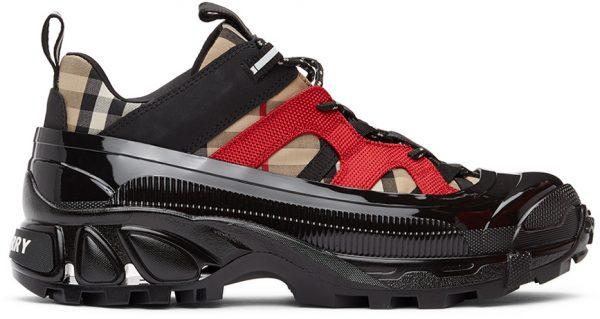 Burberry Beige Arthur Chunky Sneakers