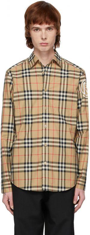 Burberry Beige Camerson Shirt