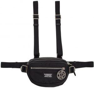 Burberry Black Cannon Belt Pouch