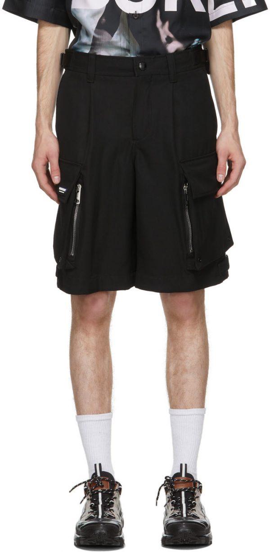 Burberry Black Cargo Billy Shorts
