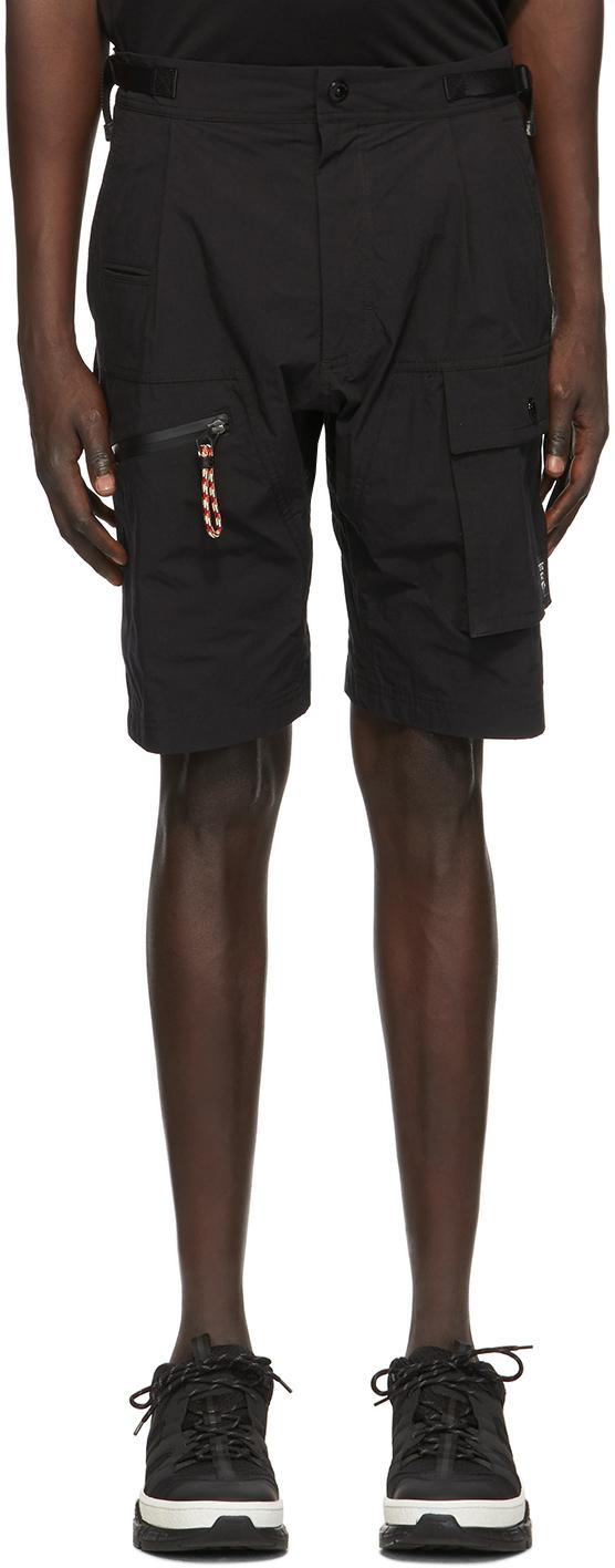 Burberry Black Combat Shorts