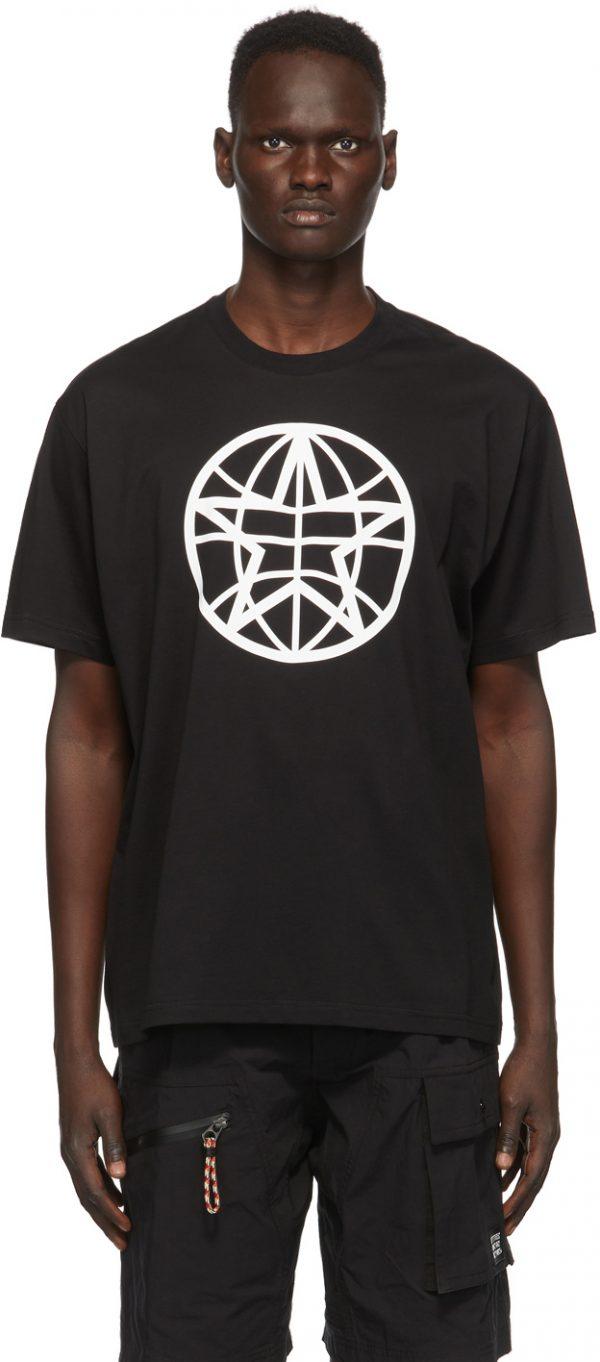 Burberry Black Globe T-Shirt