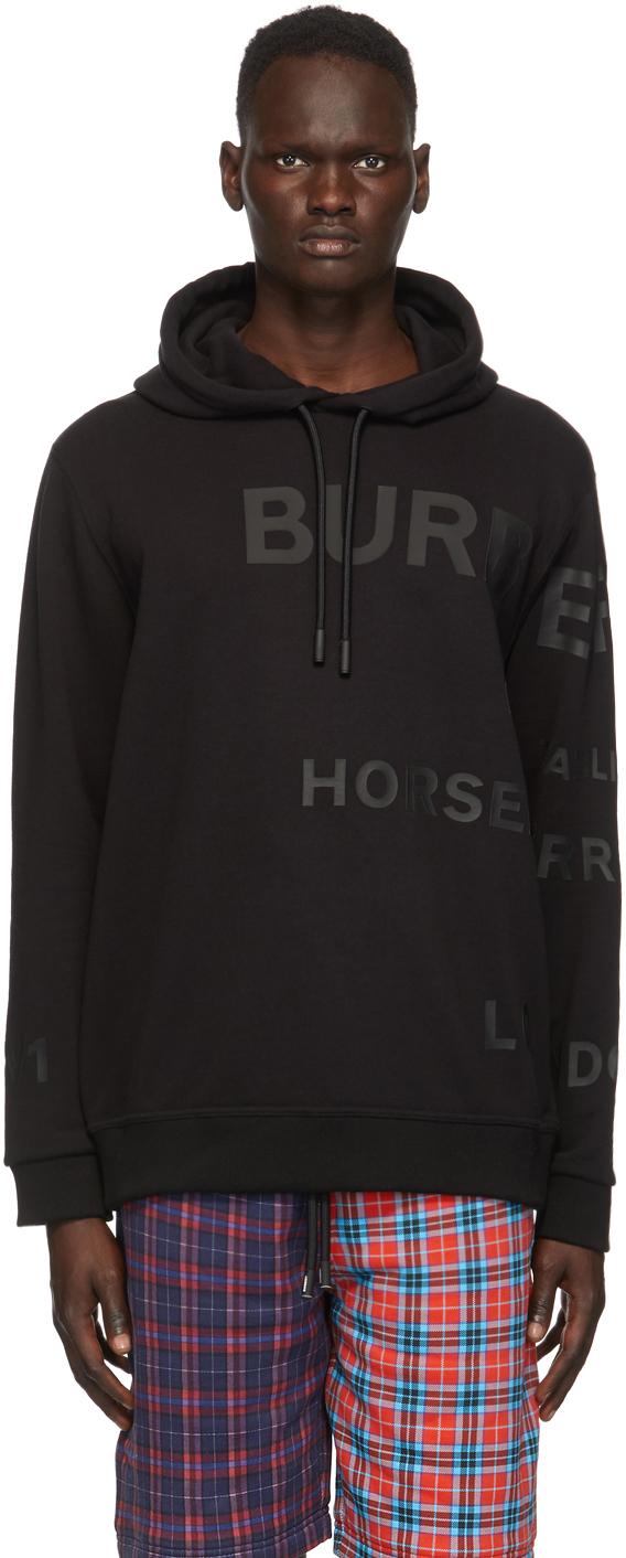 Burberry Black Hessler Hoodie