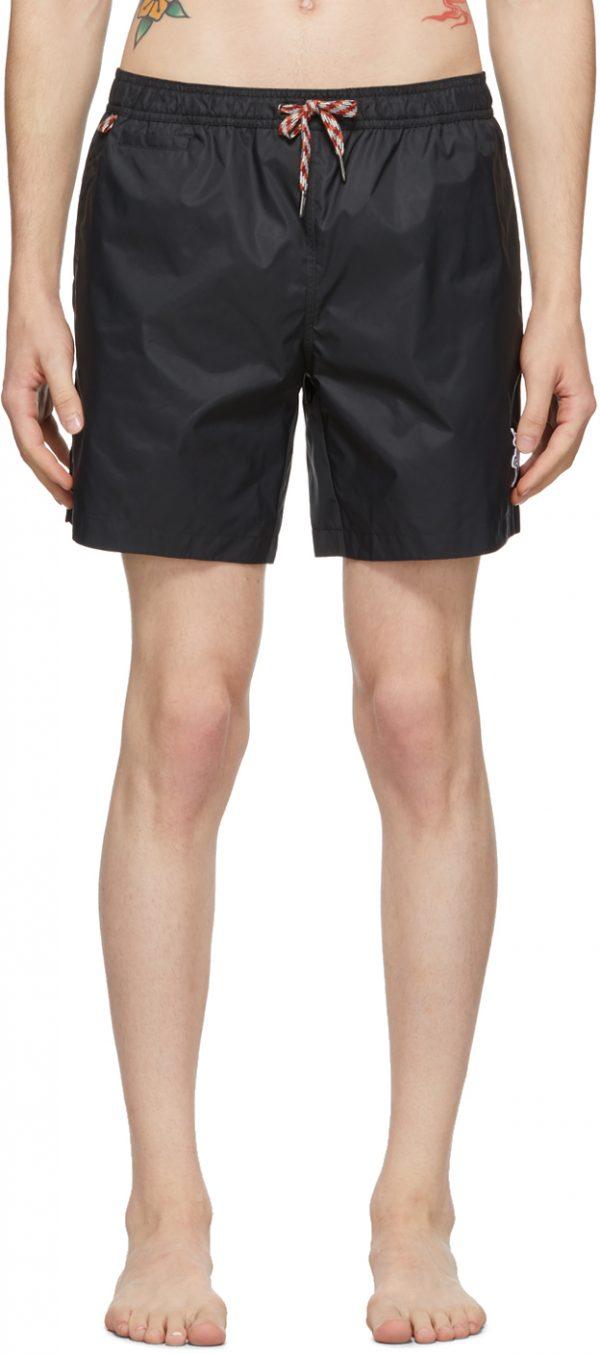 Burberry Black Martin Swim Shorts