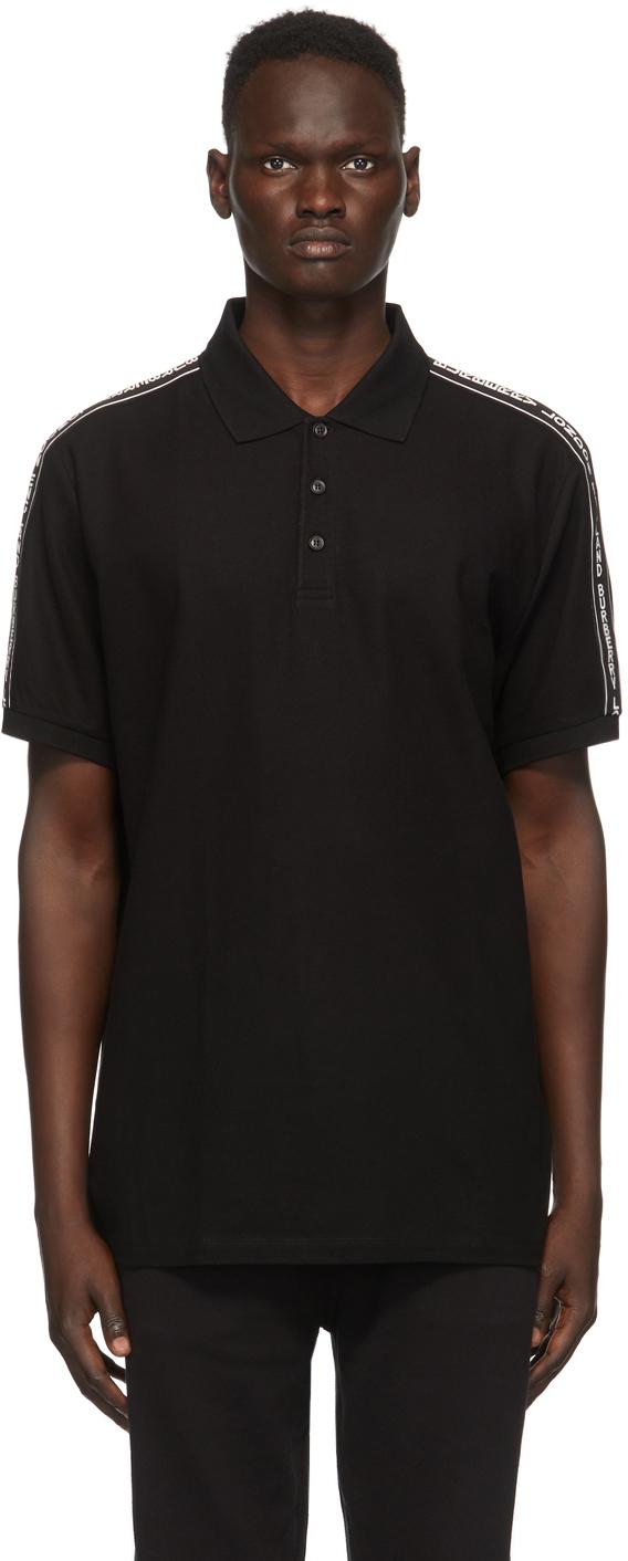 Burberry Black Stonely Polo