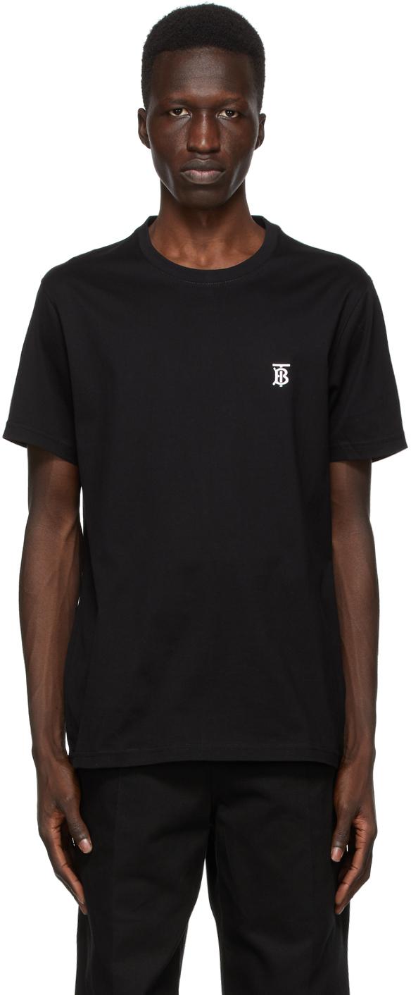 Burberry Black TB Monogram New Parker T-Shirt