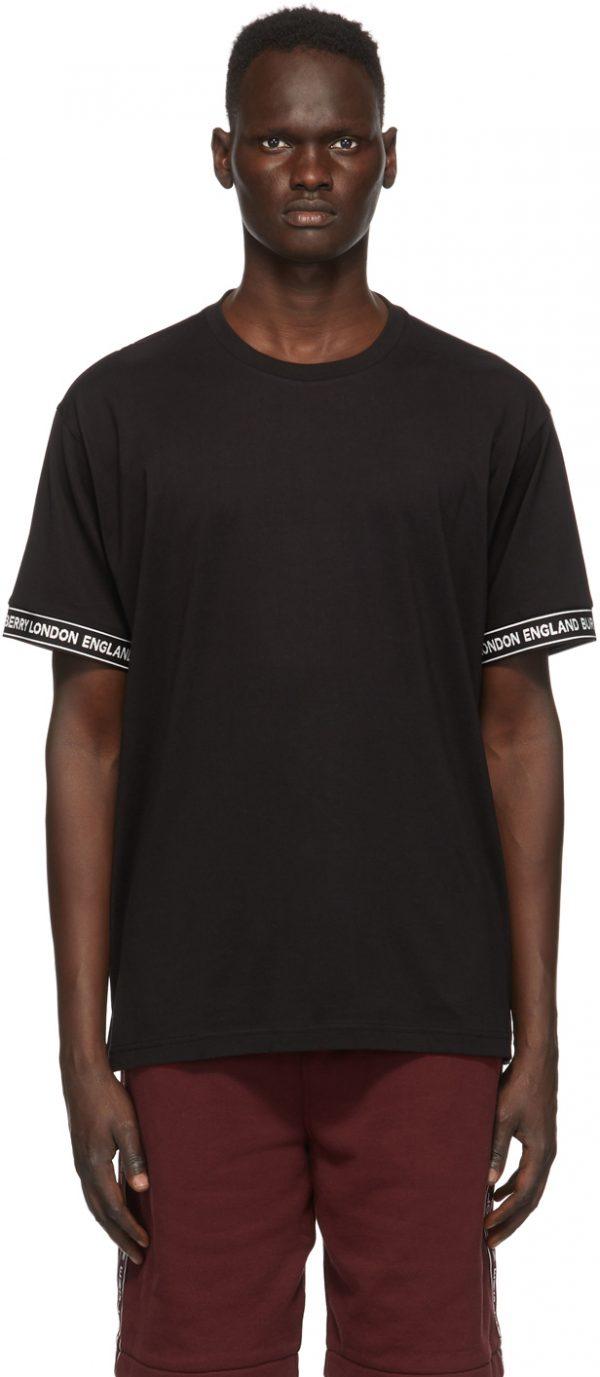 Burberry Black Teslow T-Shirt