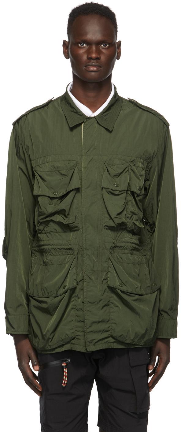 Burberry Green Thornham Jacket