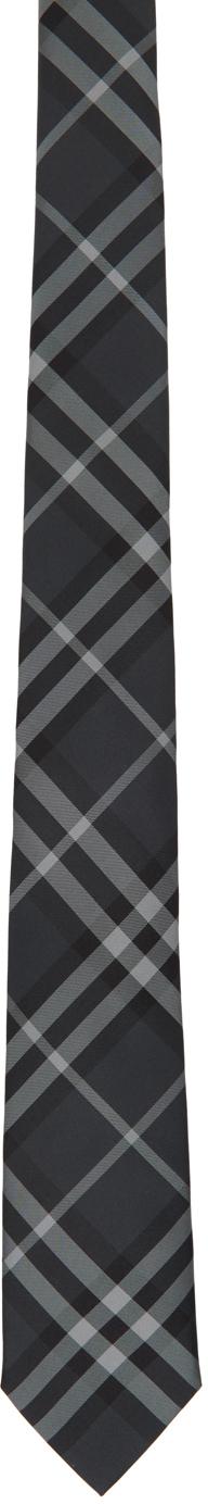 Burberry Grey Check Manston Tie