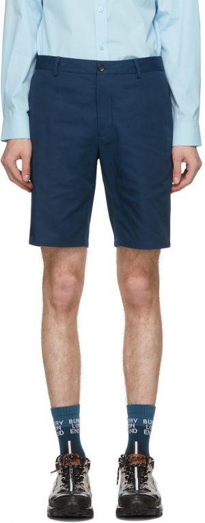 Burberry Navy Shibden Shorts